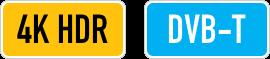 4K HDR/DVB-T